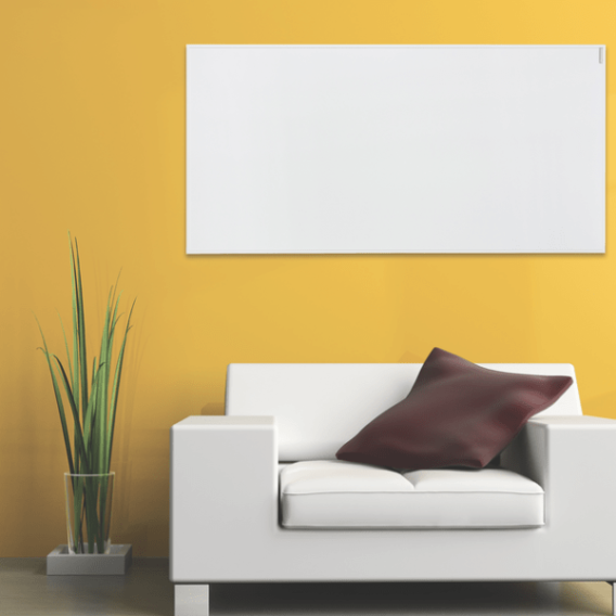 Herschel Select White value infrared heating panel