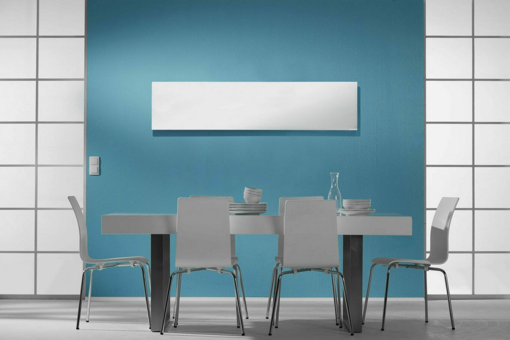 Herschel Inspire - White Frameless Infrared Panel Heater