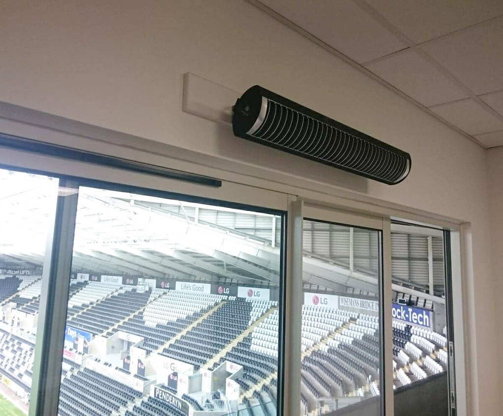 Aspect XL in VIP boxes at Liberty Stadium, Swansea