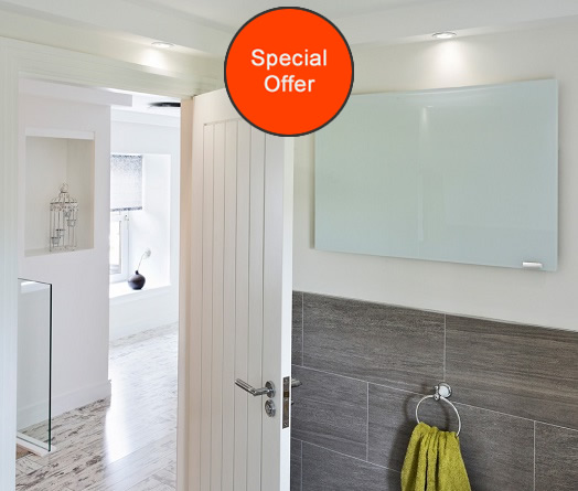 Special offer on Herschel Select XL Glass White panel