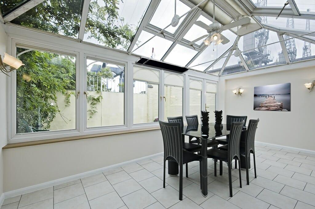 Summit conservatory heater