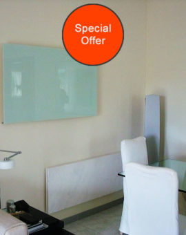 Special offers on Herschel Select XL 700W White Glass panels