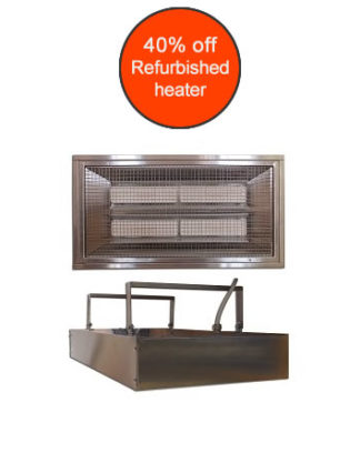 Refurbished IRP4 heater