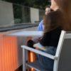 Herschel Havana 800 Watts free standing patio heater